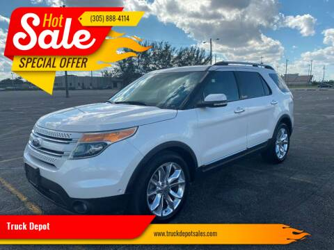 2011 Ford Explorer for sale at Truck Depot 2 in Miami FL