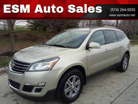 2016 Chevrolet Traverse for sale at ESM Auto Sales in Elkhart IN