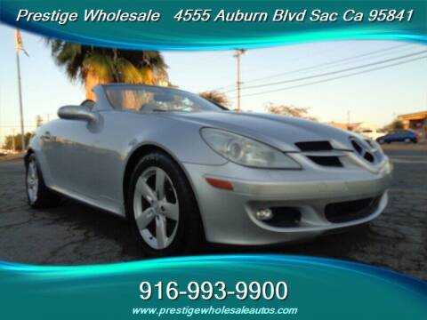 2006 Mercedes-Benz SLK for sale at Prestige Wholesale in Sacramento CA
