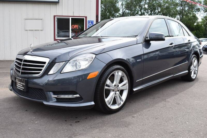 2012 Mercedes-Benz E-Class for sale at Dealswithwheels in Inver Grove Heights/Hastings MN