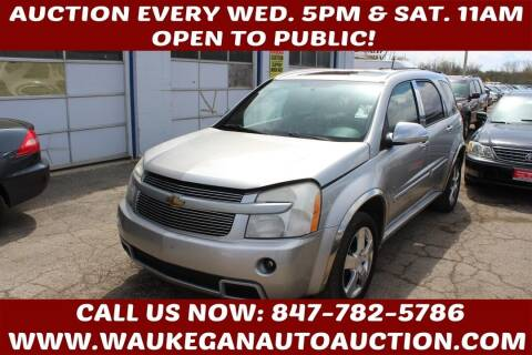 2008 Chevrolet Equinox for sale at Waukegan Auto Auction in Waukegan IL