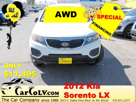 2012 Kia Sorento for sale at The Car Company in Las Vegas NV