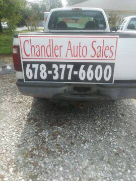 2006 Ford F-250 Super Duty for sale at Chandler Auto Sales - ABC Rent A Car in Lawrenceville GA