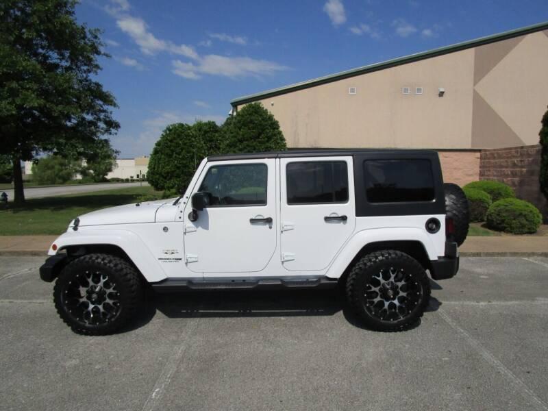 2018 Jeep Wrangler JK Unlimited for sale at JON DELLINGER AUTOMOTIVE in Springdale AR