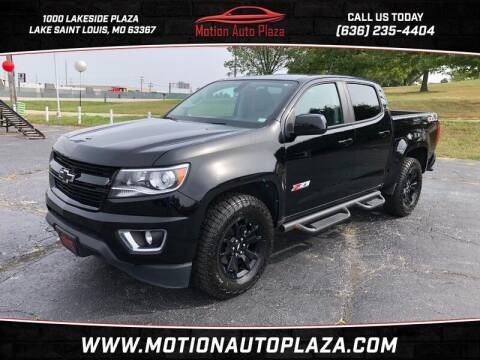 2016 Chevrolet Colorado for sale at Motion Auto Plaza in Lakeside MO