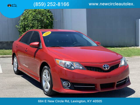 2014 Toyota Camry for sale at New Circle Auto Sales LLC in Lexington KY