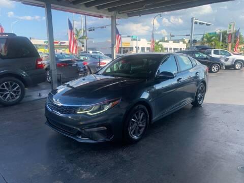 2020 Kia Optima for sale at American Auto Sales in Hialeah FL