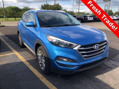2018 Hyundai Tucson for sale at MATTHEWS HARGREAVES CHEVROLET in Royal Oak MI