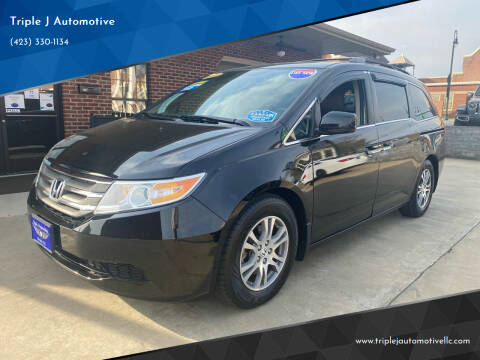 2013 Honda Odyssey for sale at Triple J Automotive in Erwin TN