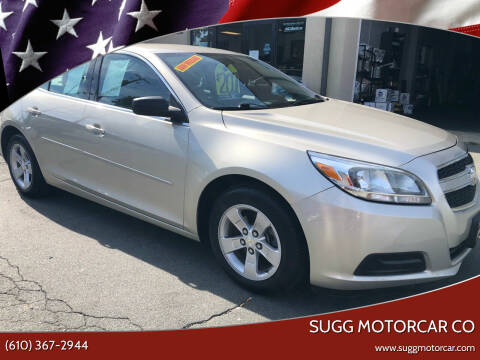 2013 Chevrolet Malibu for sale at Sugg Motorcar Co in Boyertown PA