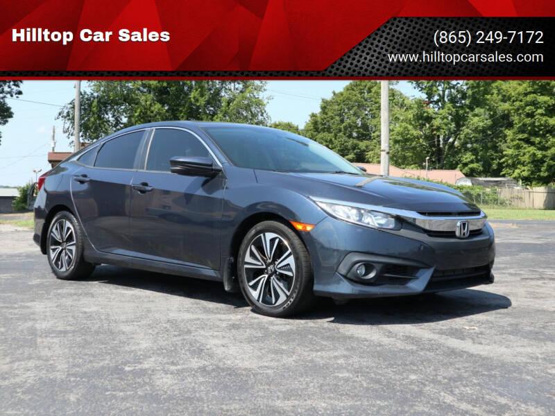 2017 Honda Civic for sale at Hilltop Car Sales in Knox TN