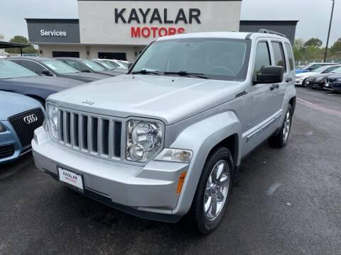 2012 Jeep Liberty for sale at KAYALAR MOTORS in Houston TX