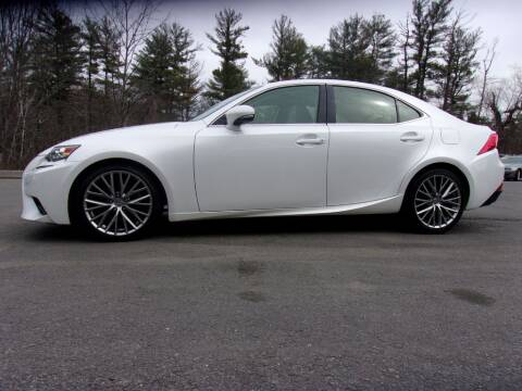 2016 Lexus IS 300 for sale at Mark's Discount Truck & Auto Sales in Londonderry NH