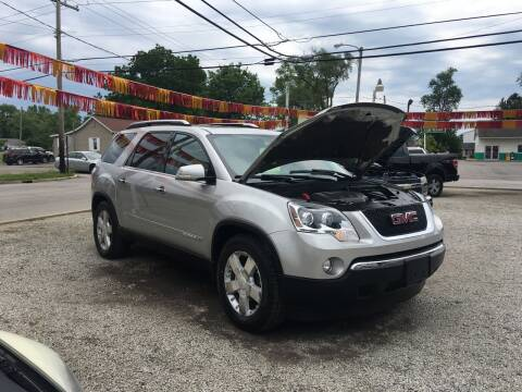 2007 GMC Acadia for sale at Antique Motors in Plymouth IN