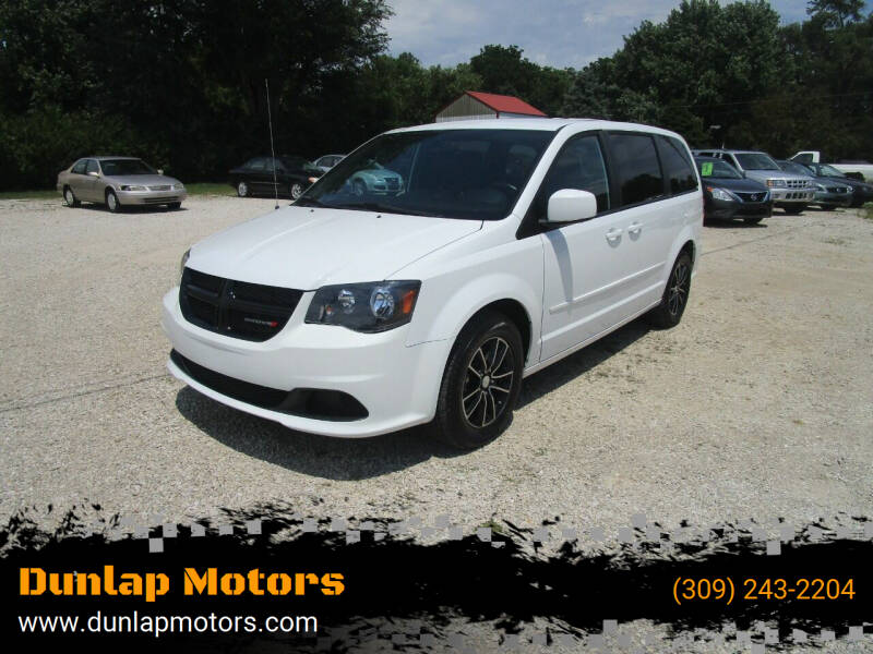 2015 Dodge Grand Caravan for sale at Dunlap Motors in Dunlap IL