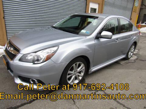 2013 Subaru Legacy for sale at Dan Martin's Auto Depot LTD in Yonkers NY