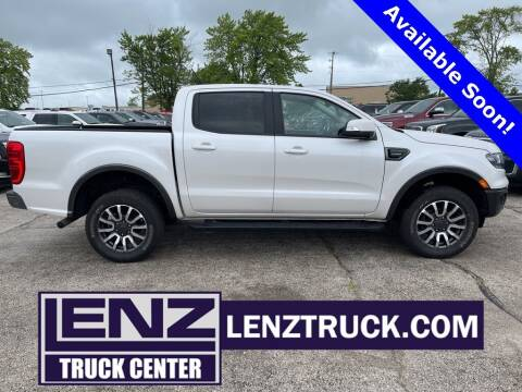2019 Ford Ranger for sale at LENZ TRUCK CENTER in Fond Du Lac WI