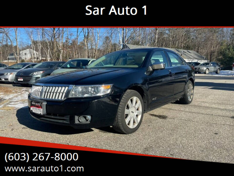 2007 Lincoln MKZ for sale at Sar Auto 1 in Belmont NH