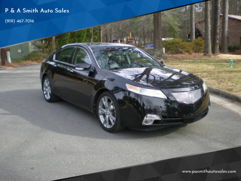 2011 Acura TL for sale at P & A Smith Auto Sales in Cary NC