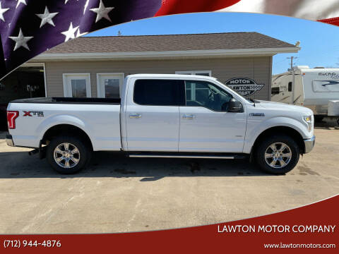 2016 Ford F-150 for sale at Lawton Motor Company in Lawton IA
