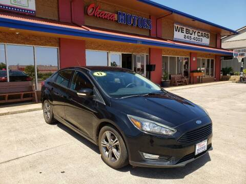2017 Ford Focus for sale at Ohana Motors in Lihue HI