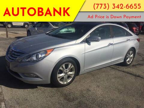 2012 Hyundai Sonata for sale at AutoBank in Chicago IL