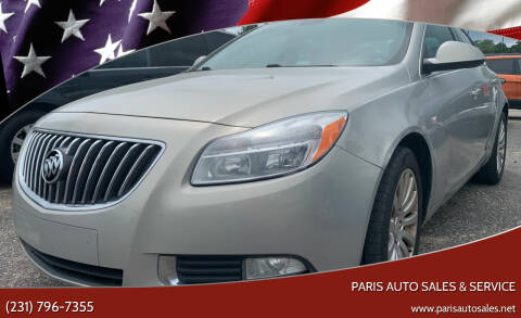2011 Buick Regal for sale at Paris Auto Sales & Service in Big Rapids MI