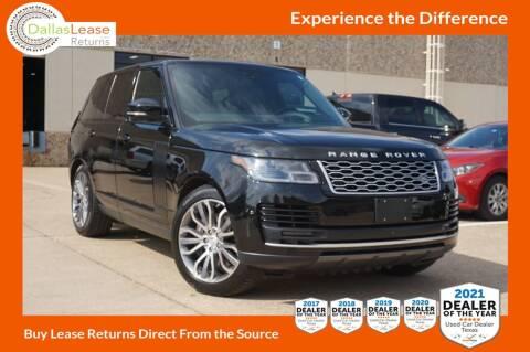 2018 Land Rover Range Rover for sale at Dallas Auto Finance in Dallas TX