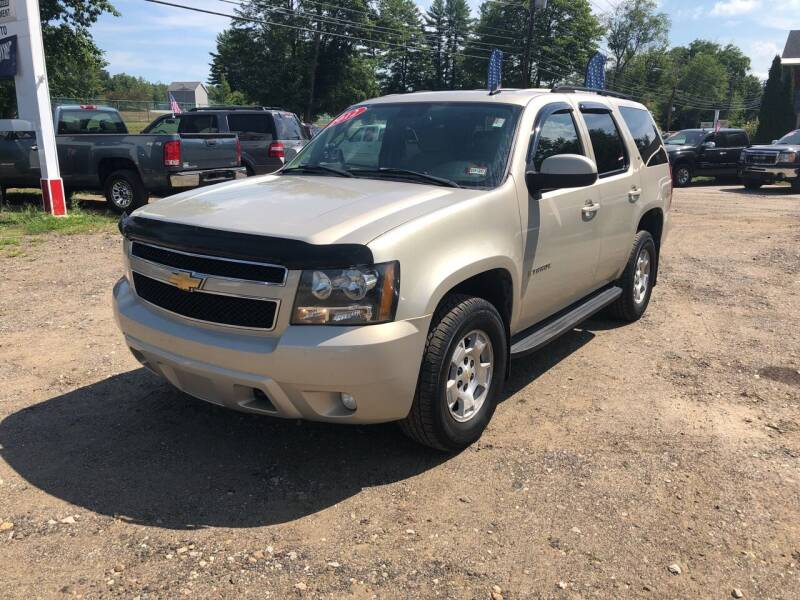 2007 Chevrolet Tahoe for sale at Winner's Circle Auto Sales in Tilton NH