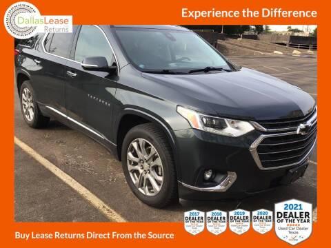 2018 Chevrolet Traverse for sale at Dallas Auto Finance in Dallas TX