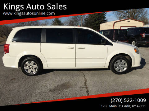 2012 Dodge Grand Caravan for sale at Kings Auto Sales in Cadiz KY