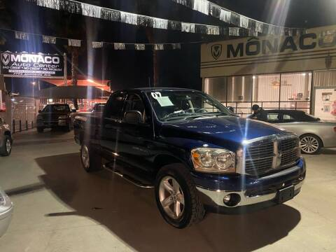 2007 Dodge Ram Pickup 1500 for sale at Monaco Auto Center LLC in El Paso TX