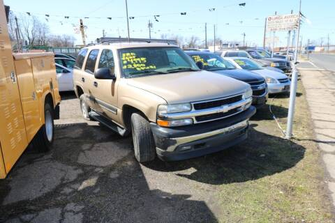 2005 Chevrolet Tahoe for sale at Urglavitch Auto Sales of NJ in Trenton NJ
