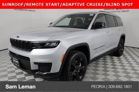 2021 Jeep Grand Cherokee L for sale at Sam Leman Chrysler Jeep Dodge of Peoria in Peoria IL