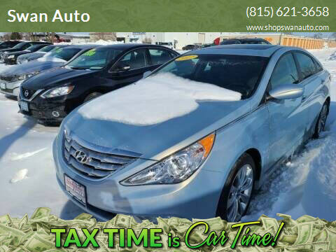 2012 Hyundai Sonata for sale at Swan Auto in Roscoe IL