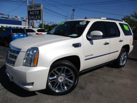 2013 Cadillac Escalade for sale at TRI CITY AUTO SALES LLC in Menasha WI
