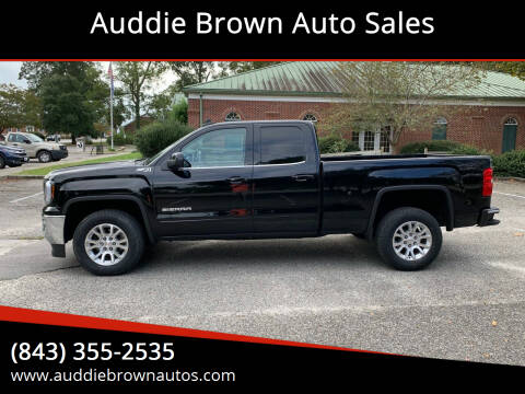 2018 GMC Sierra 1500 for sale at Auddie Brown Auto Sales in Kingstree SC