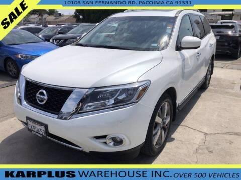 2015 Nissan Pathfinder for sale at Karplus Warehouse in Pacoima CA