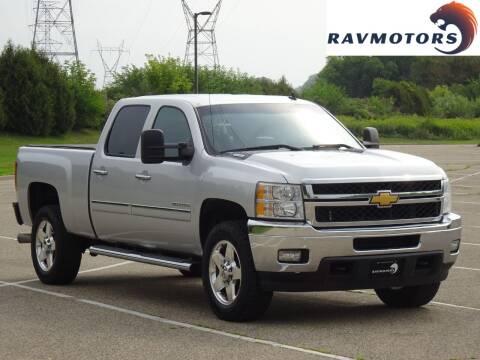 2014 Chevrolet Silverado 2500HD for sale at RAVMOTORS in Burnsville MN