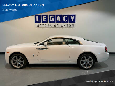 2015 Rolls-Royce Wraith for sale at LEGACY MOTORS OF AKRON in Akron OH