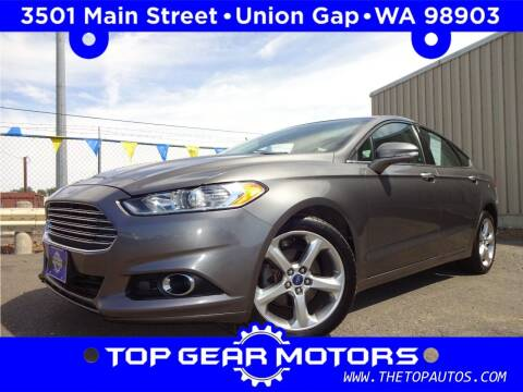 2013 Ford Fusion for sale at Top Gear Motors in Union Gap WA