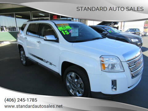2015 GMC Terrain for sale at Standard Auto Sales in Billings MT