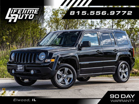 2015 Jeep Patriot for sale at Lifetime Auto in Elwood IL