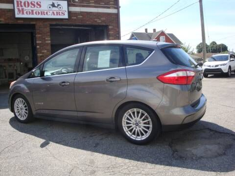 2014 Ford C-MAX Hybrid for sale at ROSS MOTOR CARS in Torrington CT