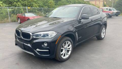 2015 BMW X6 for sale at ROUTE 6 AUTOMAX in Markham IL