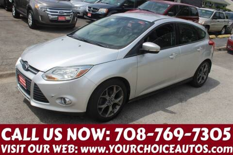 2013 Ford Focus for sale at Your Choice Autos in Posen IL