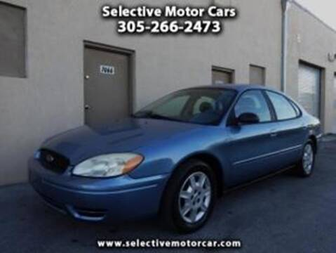 2006 Ford Taurus for sale at Selective Motor Cars in Miami FL