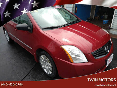 2012 Nissan Sentra for sale at TWIN MOTORS in Madison OH