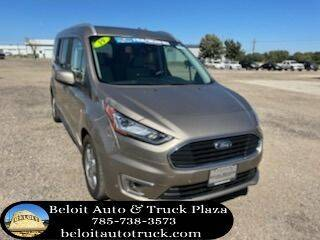 2019 Ford Transit Connect Wagon for sale at BELOIT AUTO & TRUCK PLAZA INC in Beloit KS