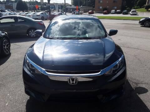 2017 Honda Civic for sale at Auto Villa in Danville VA